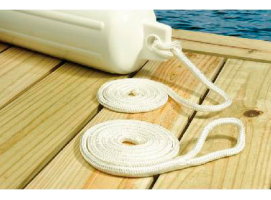 Seachoice Double Braided Nylon Fender Line