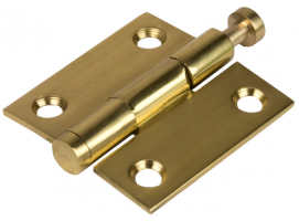 Brass Removable Pin Hinge