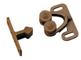 Nylon Brown Door Fastener