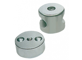 Cylindrical Central bracket handrail