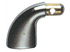 Terminal bracket chrome brass