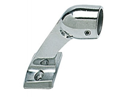 Inox End Handrail Bracket Oval