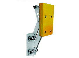 MOTOR BRACKET WITH WOOD PAD