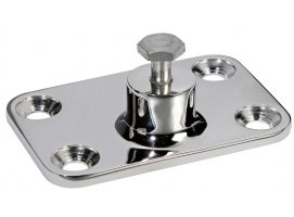 48x73 mm Inox Wall Mount