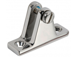 90 DEGREES DECK HINGE INOX 316 VINOX
