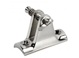DECK HINGE RAIL MOUNT WITH REMOVABLE PIN INOX 316 VINOX