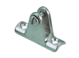DECK HINGE RAIL MOUNT HAND POLISH WITH SCREW INOX 316 VINOX