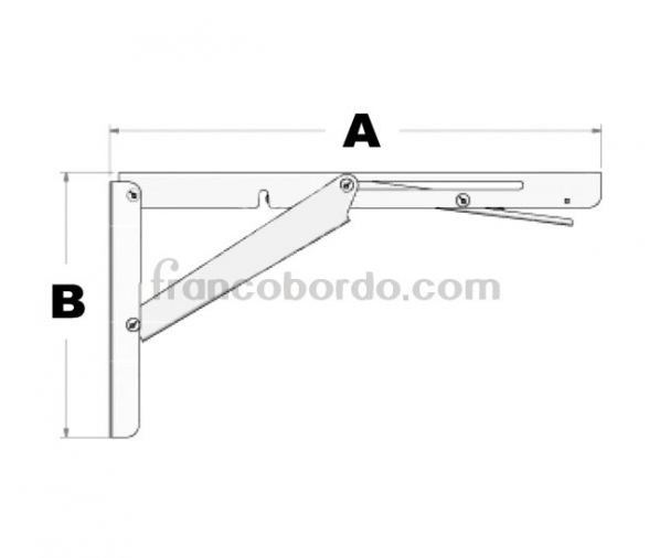 Stainless Steel Folding Arm for Table