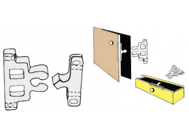 Nylon Snap-in Latch