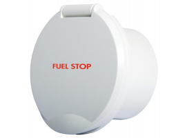Fuel Stop Classic EVO White ABS Compartment