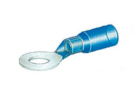 Insulated Eye Terminal Blue