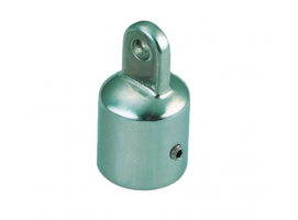 RAIL FITTING TOP CAP VINOX