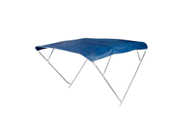 Bimini Depth Navy Blue 4 Arch Sunshade Hood