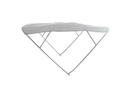Bimini Depth White 4 Arch Sunshade Hood