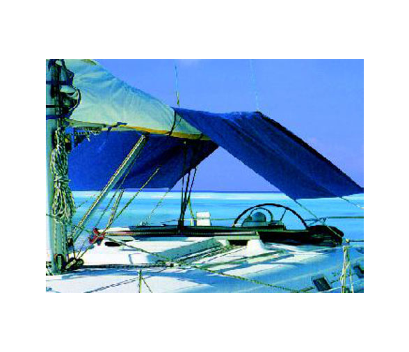 Blue Sun Awning to Be Applied to the Sailboats Room