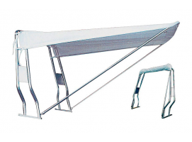 White Bimini Top Tent for Front Roll Bar