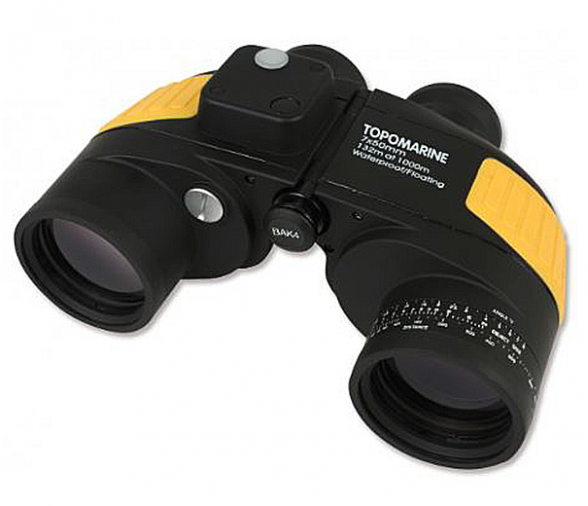 Topomarine Prismatic Rescue 7x50 Binocular with Compass