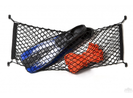 Load and containment net black colour