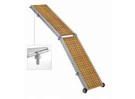 Trem Folding Gangway with Wooding Grating