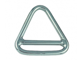 TRIANGLE RING WITH CROSS INOX 316 VINOX