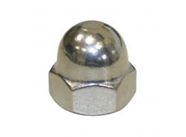 Domed Cap Hexagon Nut AISI 316 DIN 1587