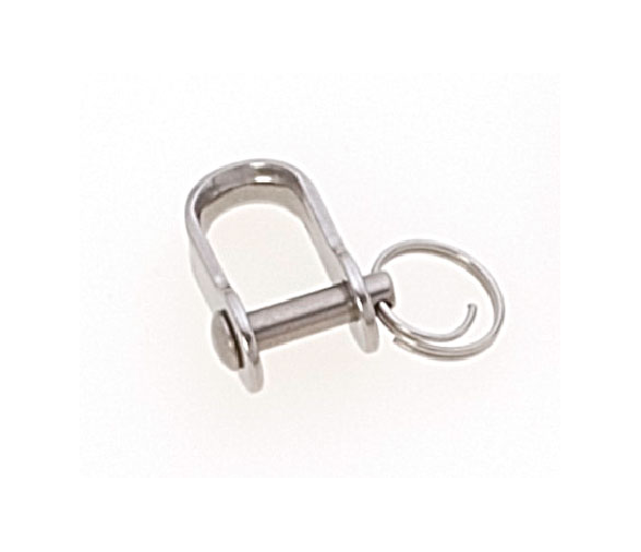 Viadana Inox Shackle with Ring -2 pieces