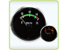 Igauge Series Electrical Volt Gauge