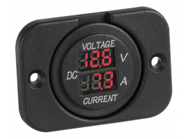 Voltmeter and Amperimeter for Recess Mounting
