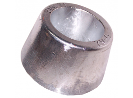Zineti Aluminium Round Bolt on Anode with Interior Steel Strap