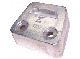 Zineti Block Type Anode for Sx-DPS Tail Volvo