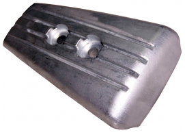 Zineti 154 mm Anode Plate for Stern Drive Volvo