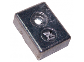 Zineti Block Anode With 1 Hole