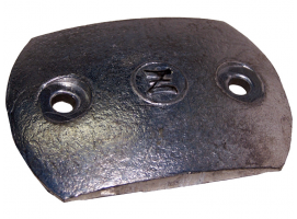 Anode Plate for a Renault Safran