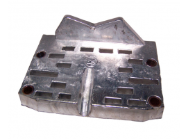 Zineti Zinc Anode Plate for Inboard Engine