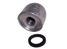 Zineti Nut for Inboard Engine Rubber Washer