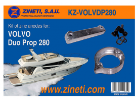 Zineti Volvo Duo Prop 280 Kit