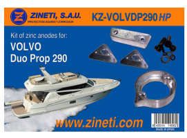 Zineti Volvo Duo Prop 290 HP Kit
