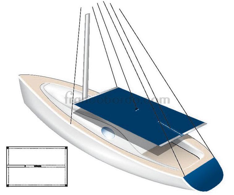 Toldo parasol impermeable tarpaulin fundas lonas y toldos toldos nautica for Toldos impermeables