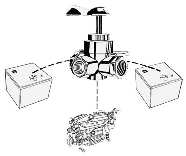 3 Way Fuel Valve Diagram