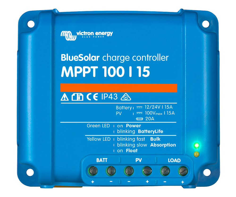 Victron Energy Blue Solar Charge controller MPPT 100/15