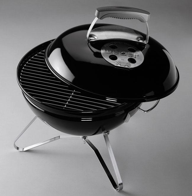 Weber barbacoa de carbon smokey joe premium 37cm tiempo for Barbacoa weber carbon